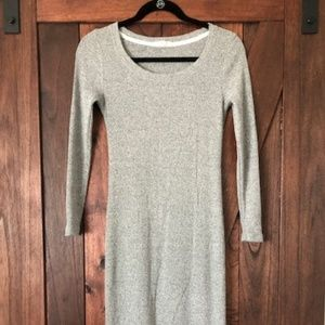 Pure Good (Anthropologie) Gray Midi Dress